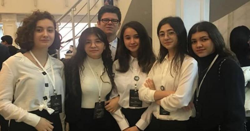 Amasya Sosyal Bilimler Lisesi Öğrencileri SOBİLMUN'20 Konferansında Amasyayı Başarı İle Temsil Etti
