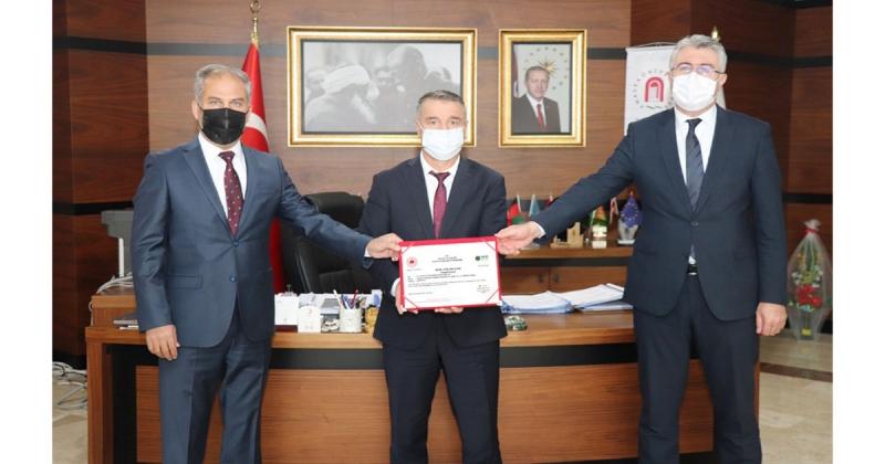 Amasya Üniversitesi Sıfır Atık Yetki Belgesi Aldı