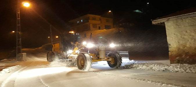 Amasya'da 153 Köy Yolu Ulaşıma Kapandı