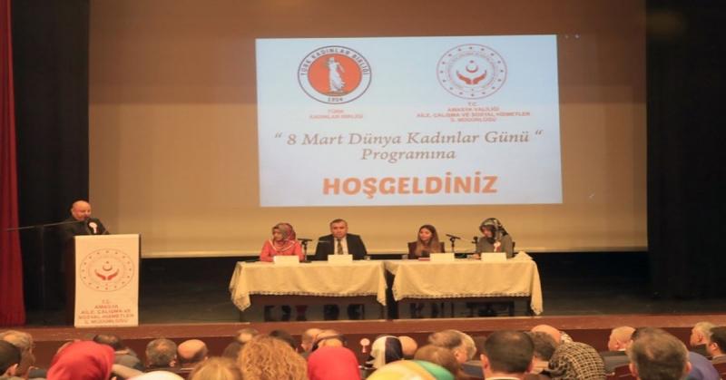 Amasya'da '8 Mart Dünya Kadınlar Günü' Programı Gerçekleştirdi