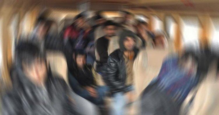 Amasya'da Afgan Uyruklu Düzensiz Göçmen Yakalandı
