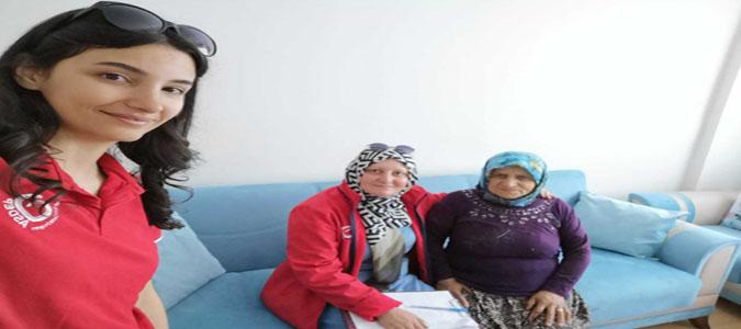 Amasya'da Aile Sosyal Destek Programı Kapsamında 3876 Hane Ziyaret Edildi