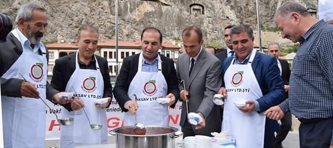 Amasya'da Aşure Etkinliği Düzenlendi