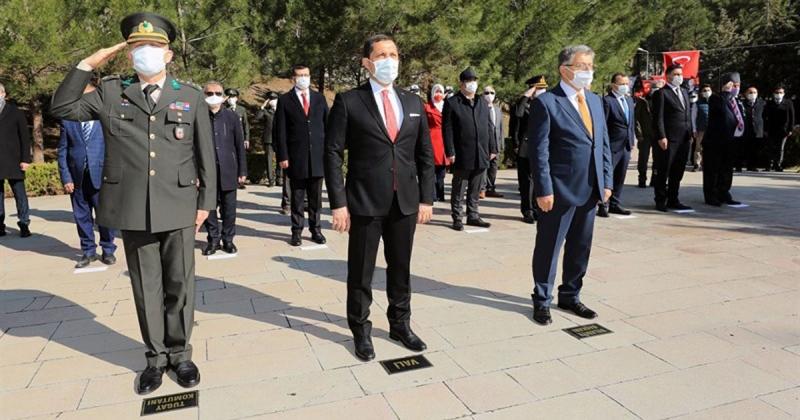 Amasya'da Çanakkale Zaferinin 106. Yılı Düzenlenen Törenle Kutlandı