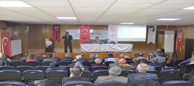Amasya'da Engelli Sorunları ve Çözüm Arayışları Çalıştayı Gerçekleştirildi
