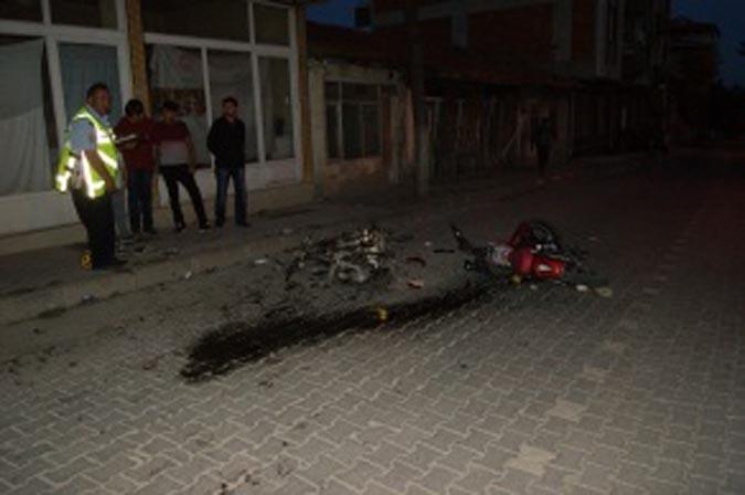 Amasya'da İki Motosiklet Çarpıştı: 1 Ölü, 1 Yaralı