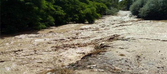 Amasya'da Köyleri Sel Vurdu