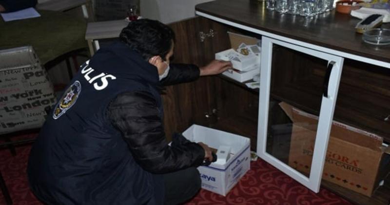 Amasya'da Kumar, Tombala ve Oyun Makineleri Uygulaması Yapıldı