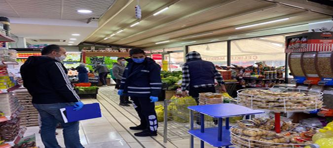 Amasya'da Marketlere Yönelik Ramazan Denetimi