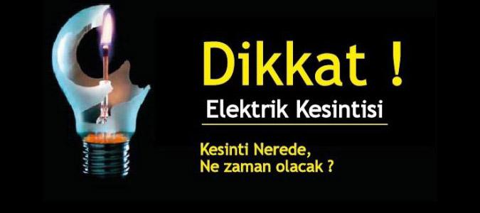 Amasya'da programlı elektrik kesintileri devam ediyor.