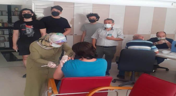 Amasya'da toplam yapılan Covid-19 aşı sayısı 332 bin 899 oldu.