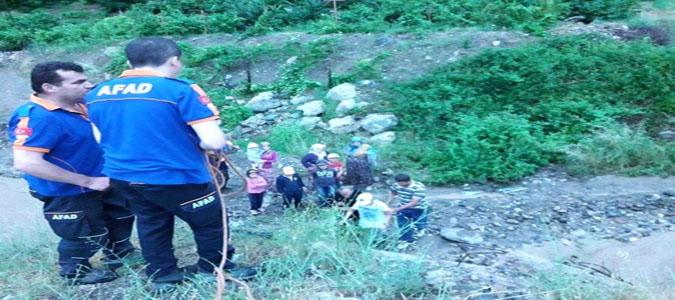 Amasya'da Vatandaşların İmdadına AFAD Ekipleri Yetişti