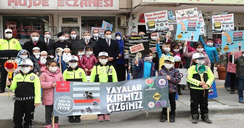 Amasya'da Yaya Önceliği Kırmızı Çizgimizdir Etkinliği Gerçekleştirildi