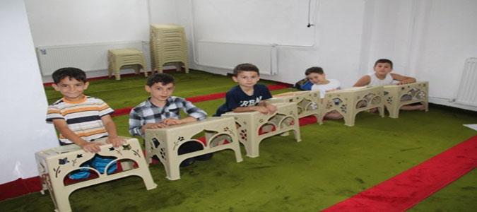 Amasya'da Yaz Dönemi Kuran Kursları Açıldı
