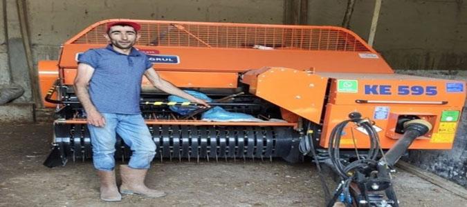 Amasyalı Çiftçilere Balya ve Silaj Makineleri Teslim Edildi