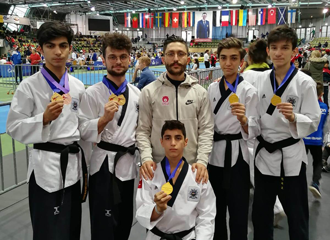 Amasyalı Sporculardan Taekwondo da Büyük Başarı