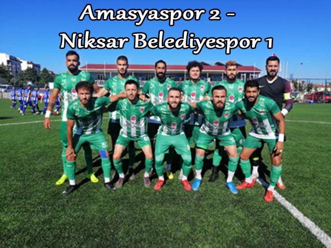 Amasyaspor 2 -   Niksar Belediyespor 1