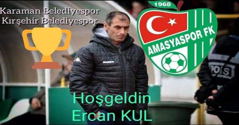 Amasyaspor Teknik Direktör Ercan Kul İle Anlaştı