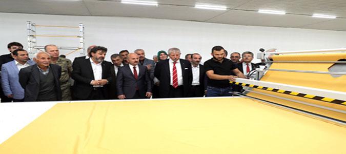 Amasya'ya Yatırım Yapacak Firma Sahiplerine Başkan Sarı'dan Destek