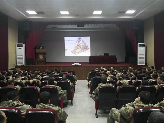 Askerlerimize ''İlk Yardım Farkındalık Eğitimi'' Verildi