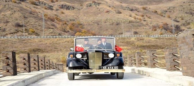 Atatürk'ün Samsun'dan Amasya'ya Seyahati Canlandırılacak