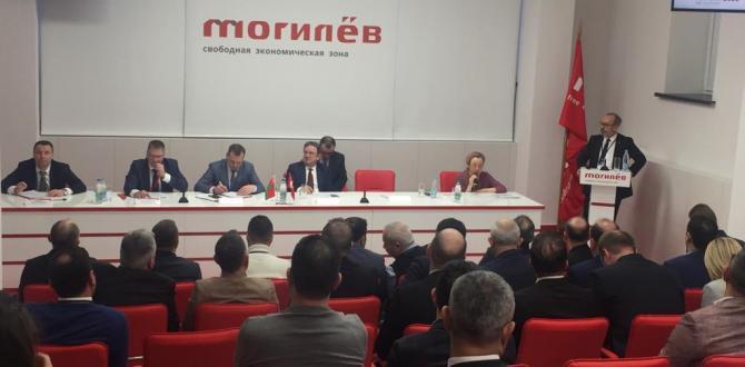 ATSO Belarus'ta Resmi Temaslara Başladı