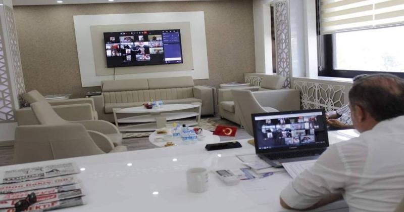 ATSO Meclis Toplantısı Video Konferansla Yapıldı