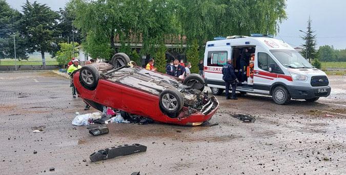 Aynı Aileden 5 kişi Yaralandı