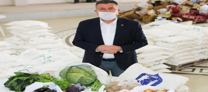 Başkan Kargı, Gıda Yardımı Hakkında Konuştu