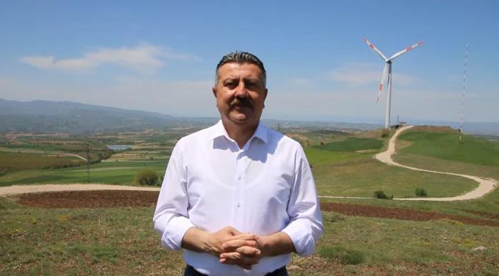 Başkan Kargı, Rüzgar Enerjisi Projesi Hakkında Açıklamada Bulundu