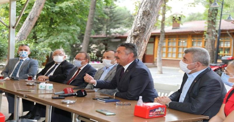 Başkan Kargı ve CHP Heyeti Yerel ve Ulusal Basın Temsilcileriyle Bir Araya Geldi