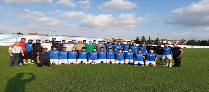 Başkan Kargı'dan Merzifonspor'a Kupa Öncesi Ziyaret