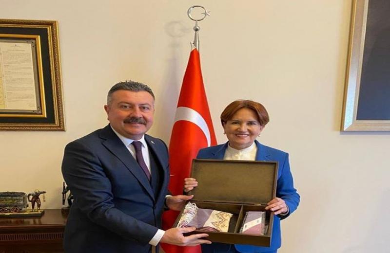Başkan Kargı'dan,Meral Akşener'e Ziyaret