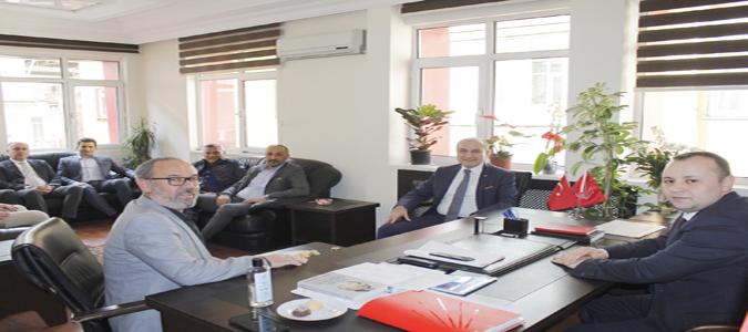 Başkan Kırlangıç ve Yönetimi CHP İl Başkanlığını Ziyaret Etti