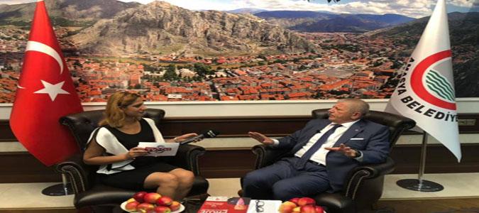 Başkan Sarı, 'Ekonomi Dünyası' Programına Konuk Oldu