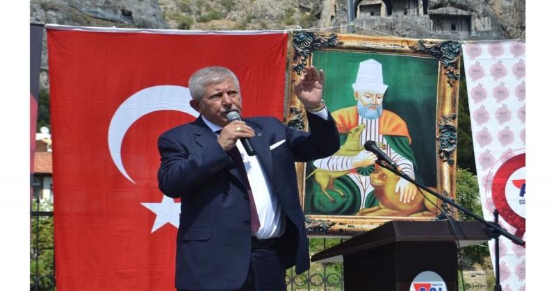Başkan Sarı; 'Türkiye'in En Büyük Cemevi Amasya'da Olacak'