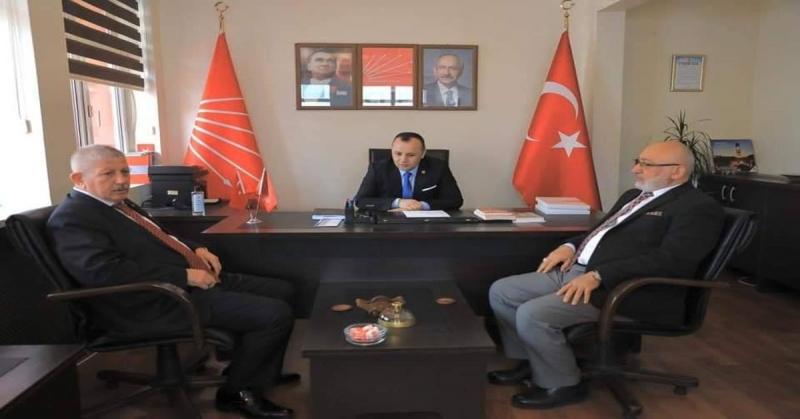 Başkan Sarı'dan Yeni CHP İl Yönetimine Ziyaret