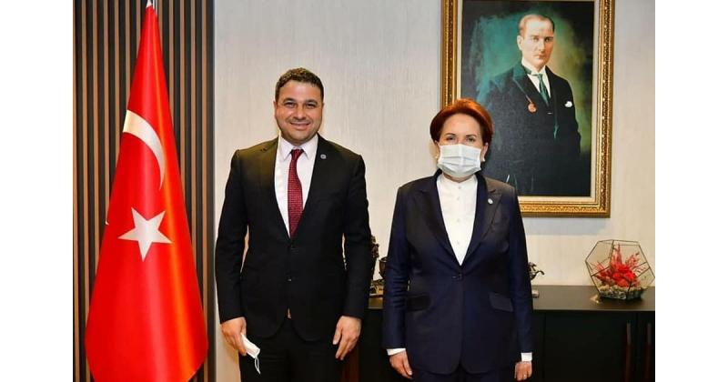 Başkan Verdi, Genel Başkan Akşenir'i Ziyaret Etti