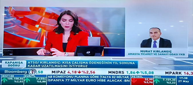 Başkanı Kırlangıç, 'Günden Kalanlar' Programı'na Canlı Telefon Bağlantısı ile Katıldı