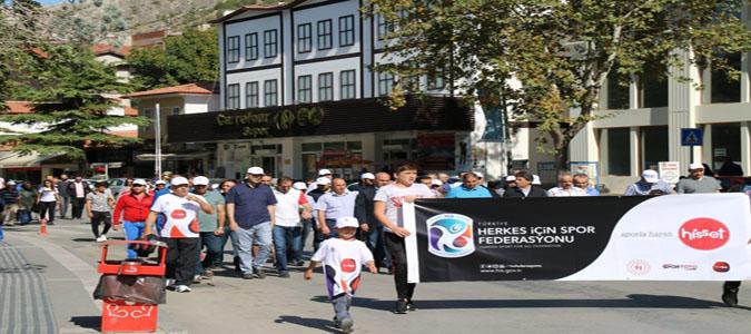 'Beraber Yürüyelim' Temalı Yürüyüş Gerçekleştirildi