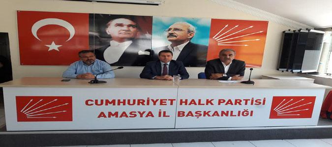 CHP Amasya İl Başkanlığın da bayramlaşma programı düzenlendi.
