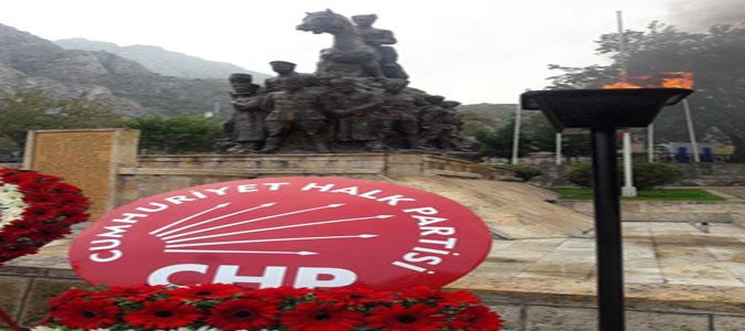 CHP Amasya İl Başkanlığı 81. Ölüm Yıl Dönümde Ulu Önder Atatürk'ü Andı