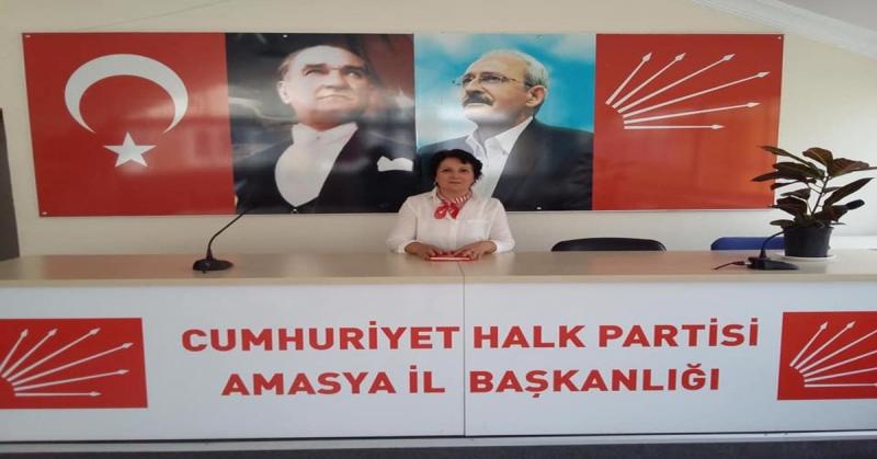 CHP Amasya İl Kadın Kolları Başkanı Zeynep Ateş'in Kadın Cinayetlerine İlgili Basın Açıklaması