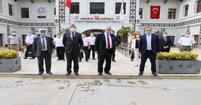 CHP Amasya İl ve Merkez İlçe Yönetimi, Başkan Sarı'ya Makamında İadeyi Ziyaret Gerçekleştirdi