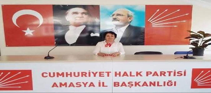 CHP Amasya Kadın Kolları Başkanı Ateş; 'Özgür ve eşit yaşayacağımız, emeğin sömürülmediği şehirleri inşa edeceğiz'