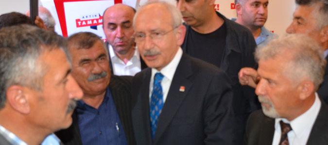 CHP Genel başkanı Kılıçdaroğlu Amasya'da
