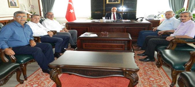 CHP Grubundan Erdin Acar'a Ziyaret