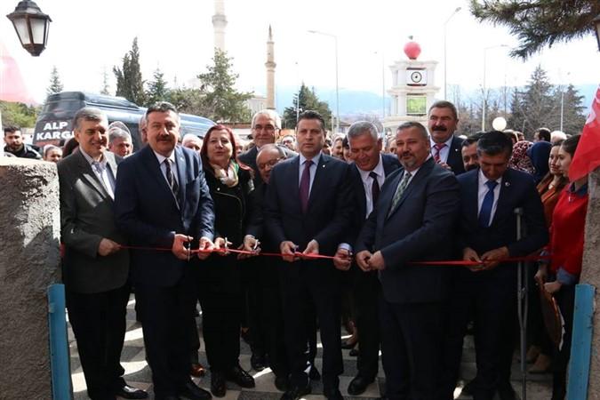 CHP Hamamözü İlçe Seçim Bürosu Açılışı Yapıldı