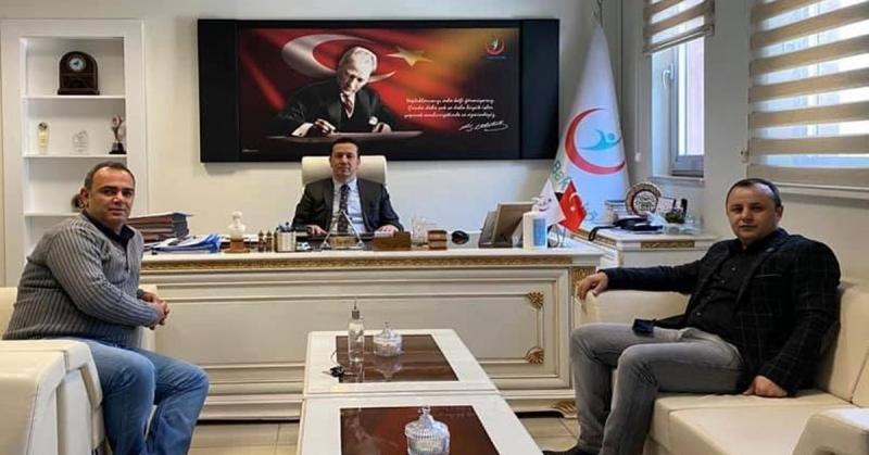 CHP İl Başkanı Av. Turgay Sevindi'den Sağlık İl Müdürü Öner Nergiz'e Ziyaret