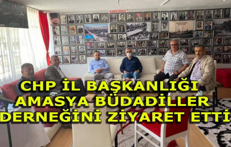 CHP İl başkanlığı Mübadiller Derneğini Ziyaret Etti